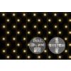 Nexos diLED fényfüggöny - 200 LED meleg fehér + bekötés