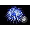 Nexos Karácsonyi dekoratív világítás - jégcsapok - 60 LED kék