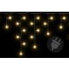 Nexos Karácsonyi fényfüggöny 72 LED meleg fehér - 2,7 m