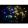 Nexos Trading GmbH & Co. KG Karácsonyi fényfüzér 200 LED - 9 villogó funkció, színváltó - 19,9 m