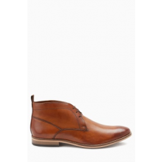 Next , Bőr chukka cipő, Barna, 11 (857962-BROWN-11 EU 45)