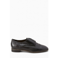 Next , Brogue bőrcipő, Fekete, 5 (594289-BLACK-5 EU 38)