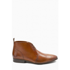 Next , Chukka bőrcipő, Barna, 11 (533685-BROWN-11 EU 45)