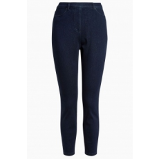 Next , Crop farmer hatású leggings, Sötétkék, 8R (152807-BLUE-8R)