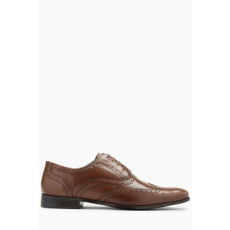 Next , Oxford brogue bőrcipő, Fahéjbarna, 11.5 (178002-BROWN-11.5 EU 46)