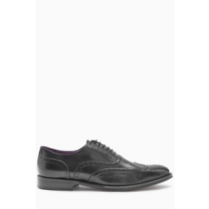 Next , Oxford brogue bőrcipő, Fekete, 9 (196971-BLACK-9 EU 43)