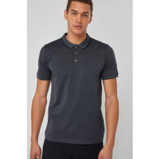 Next , Regular fit galléros póló, Sötétszürke, XXXXL (633192-GREY-XXXXL)
