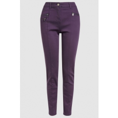 Next , Skinny fit nadrág, Lila, 10L (591199-PURPLE-10L)