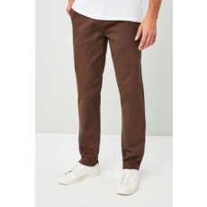 Next , Slim fit chino nadrág, Barna, 32L (503145-BROWN-32L)
