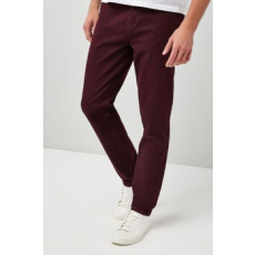 Next , Slim fit chino nadrág, Bordó, 34XL (546870-RED-34XL)