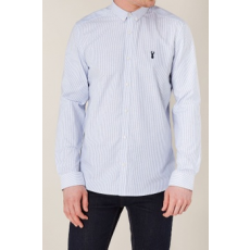 Next , Slim fit csíkos oxford ing, Égszínkék, XXXL (128724-BLUE-XXXL)