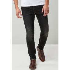 Next , Slim fit farmernadrág, Fekete, 38R (555336-BLACK-38R)