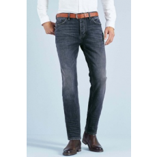 Next , Slim Fit farmernadrág övvel, Tengerészkék, 38L (513116-BLUE-38L)