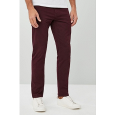 Next , Slim fit rugalmas farmernadrág, Bordó, 36L (356258-RED-36L)