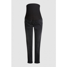 Next , Straight fit kismama farmernadrág, Fekete, 12R (521563-BLACK-12R)