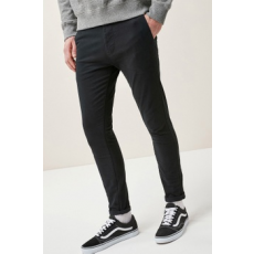 Next , Super Skinny Fit Chino nadrág, Fekete, 32L (526103-BLACK-32L)