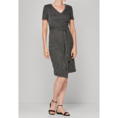 Next TBC NEXT Charcoal Knit Look Dress 12 (462695-GREY-12)