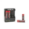 Nexus Akkumulátortöltő USB-s - DC 5V / 1A 4 x AA / AAA 18940