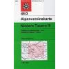 Niedere Tauern III turistatérkép - Alpenvereinskarte 45/3