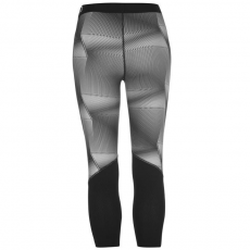Nike 3/4-es női edzőnadrág Méret: XS - Nike Pro Graphic Training Capris Black/Grey