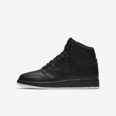 Nike Air Jordan 1 Retro High OG Perforated Black GS