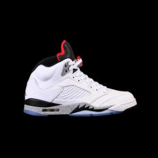 Nike Air Jordan 5 Retro White Cement GS