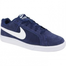 Nike Court Royale Suede Férfi Sportcipő, Midnight Navy/White, 46 (819802-410-12)