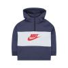 Nike Gyerek kapucnis pulóver Nike 342S-U2Y Tengerészkék Szürke