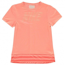 Nike gyerek póló - Nike Dry Core Top Junior Girls Pink