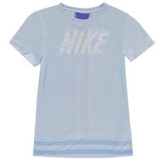 Nike gyerek póló - Nike Dry Core Top Junior Girls Royal