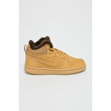 Nike Kids - Gyerek cipő Court Borough Mid Wntr - mustár színű - 1395398-mustár színű