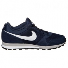 Nike MD Runner 2 férfi sportcipő, Midnight Navy/White, 46 (749794-410-12)