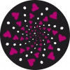Nikidom Matrica készlet Roller Wheel Stickers Cuore