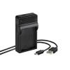 Nikon EN-EL14 akku/akkumulátor USB adapter/töltő utángyártott