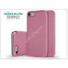 Nillkin Apple iPhone 7/iPhone 8 oldalra nyíló flipes tok - Nillkin Sparkle - pink