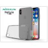 Nillkin Apple iPhone X szilikon hátlap - Nillkin Nature - szürke