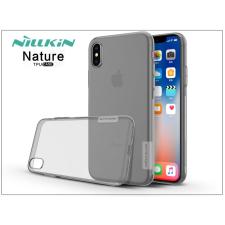 Nillkin Apple iPhone X szilikon hátlap - Nillkin Nature - szürke tok és táska