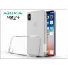 Nillkin Apple iPhone X szilikon hátlap - Nillkin Nature - transparent