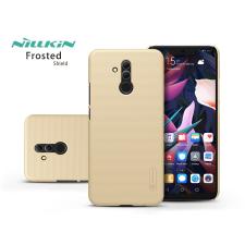 Nillkin Huawei Mate 20 Lite hátlap - Nillkin Frosted Shield - gold tok és táska