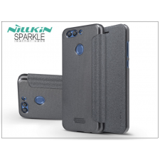 Nillkin Huawei Nova 2 Plus oldalra nyíló flipes tok - Nillkin Sparkle - fekete tok és táska
