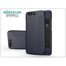 Nillkin Huawei P10 oldalra nyíló flipes tok - Nillkin Sparkle - fekete tok és táska