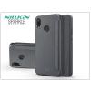 Nillkin Huawei P20 Lite oldalra nyíló flipes tok - Nillkin Sparkle - fekete