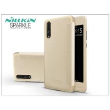 Nillkin Huawei P20 Pro oldalra nyíló flipes tok - Nillkin Sparkle - gold tok és táska