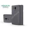 Nillkin LG G7 ThinQ G710 oldalra nyíló flipes tok - Nillkin Sparkle - fekete