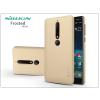 Nillkin Nokia 6 (2018) hátlap képernyővédő fóliával - Nillkin Frosted Shield - gold