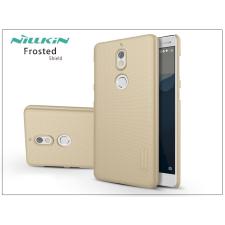 Nillkin Nokia 7 hátlap képernyővédő fóliával - Nillkin Frosted Shield - gold tok és táska
