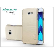 Nillkin Samsung A320F Galaxy A3 (2017) hátlap képernyővédő fóliával - Nillkin Frosted Shield - gold tok és táska