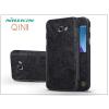 Nillkin Samsung A320F Galaxy A3 (2017) oldalra nyíló flipes tok - Nillkin Qin - fekete