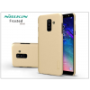 Nillkin Samsung A605 Galaxy A6 Plus (2018) hátlap képernyővédő fóliával - Nillkin Frosted Shield - gold