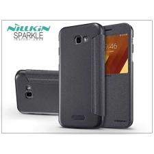 Nillkin Samsung A720F Galaxy A7 (2017) oldalra nyíló flipes tok - Nillkin Sparkle - fekete tok és táska